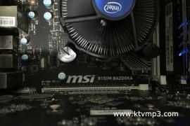 微星MSI B150M BAZOOKA MS7982 魔改BIOS升级支持i3-9100f